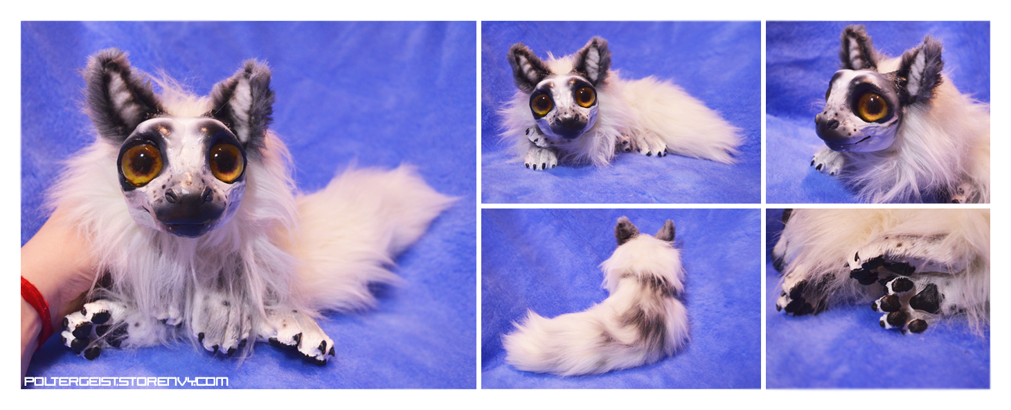 Arctic Marble Fox Drake Doll by Isvoc