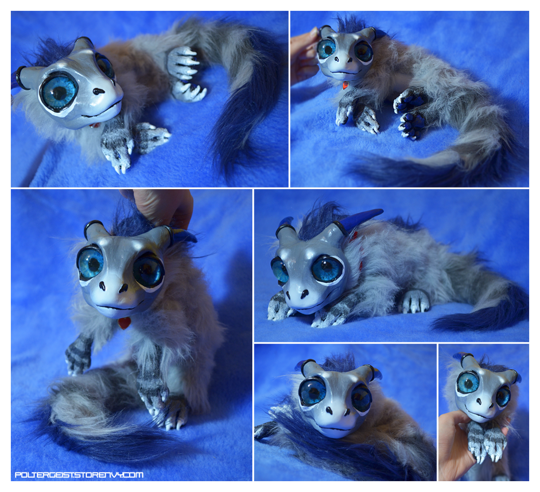 Newborn Stripetail Drake Doll by Isvoc