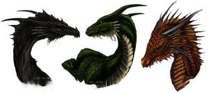 Age of Fire Dragon Trio