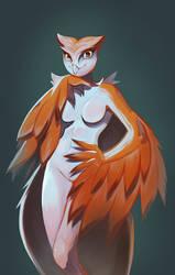 Owl Friend by Blackblader