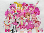 Pink Magical Girls (Crossover)