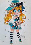 Alice in Wonderland Chibi OC