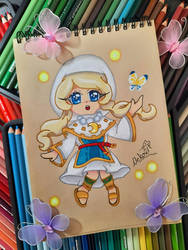 Fantasy Life Chibi Yuelia (Art Raffle Price)