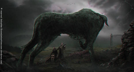 The Hound of the Baskerville by Sebastien-Ecosse