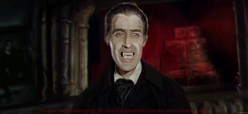 Dracula Christopher Lee by Sebastien-Ecosse