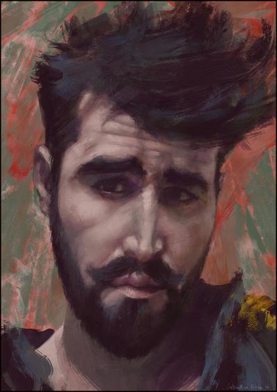 Auto-portrait by Sebastien-Ecosse