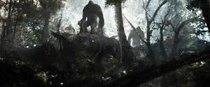 Bigfoot reunion by Sebastien-Ecosse