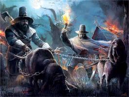 Witch Hunters by Sebastien-Ecosse