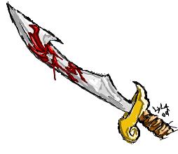 bloody sword