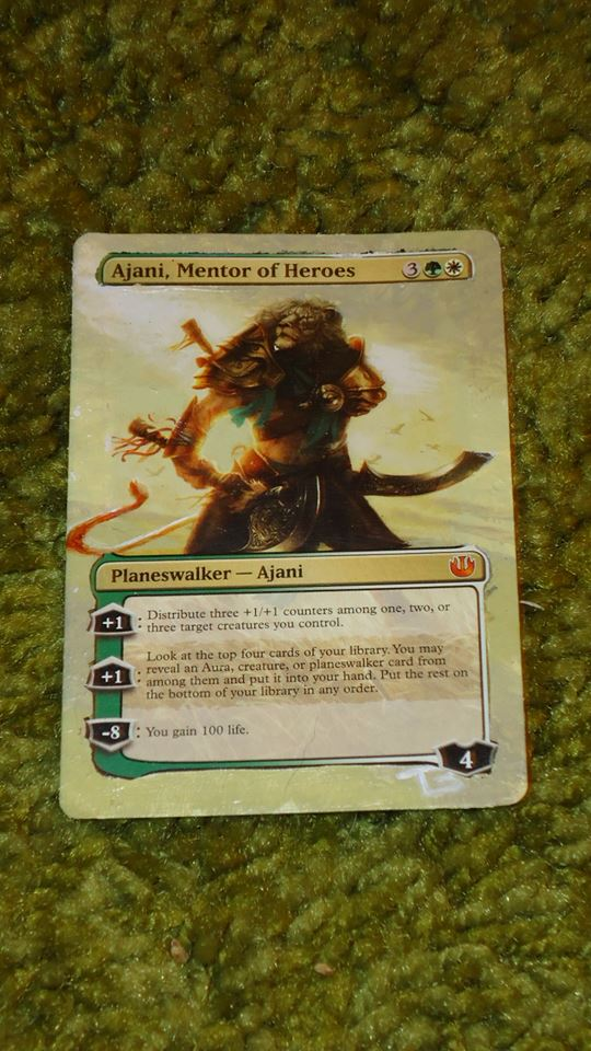 Ajani, Mentor of Heroes - Card Alter by somechick73
