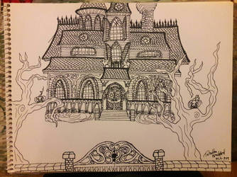 spooky house by somechick73