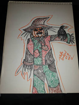 Scarecrow Inktober 18