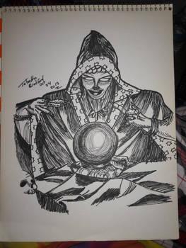 inktober 24 - oracle