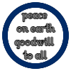 Peace on Earth Goodwill to All Ornament