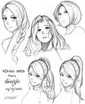 King's Raid: Maria Hairstyles