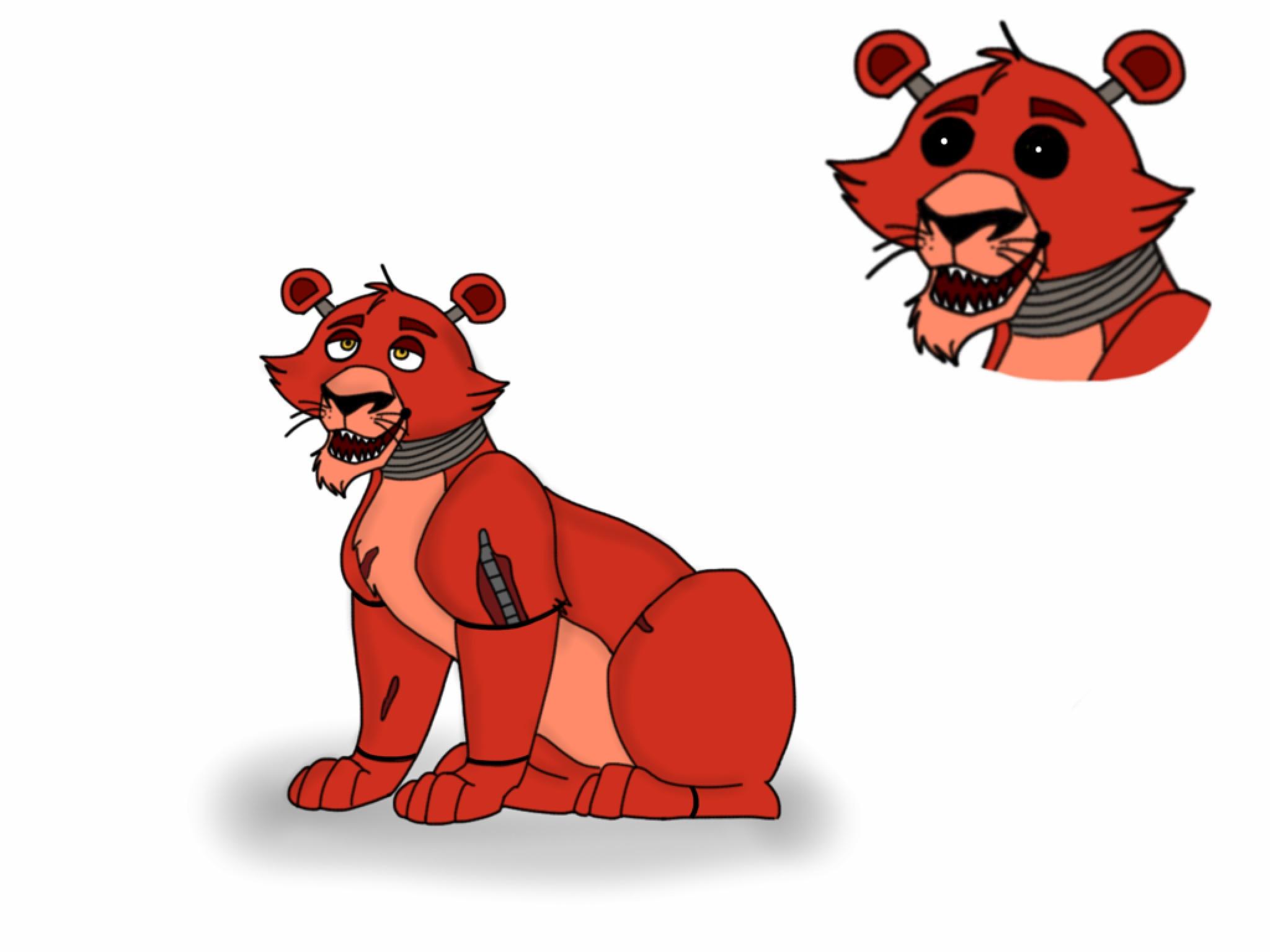 Galería de Aisha - Página 5 Foxy_lion_animatronic____by_tlk323-d9bhqkk