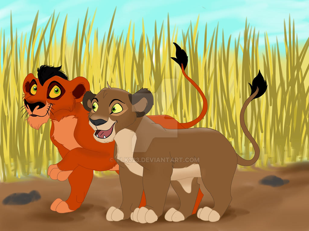 Taka and Liara Cubs [Gift for Firsthuntress] by TLK323
