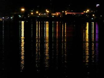 Danube by night by MAGDAMMUS