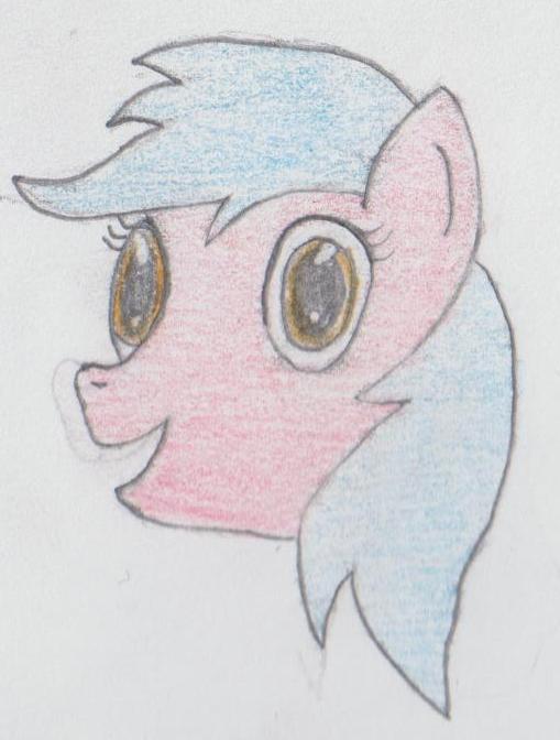 Dumb Pony by poknees