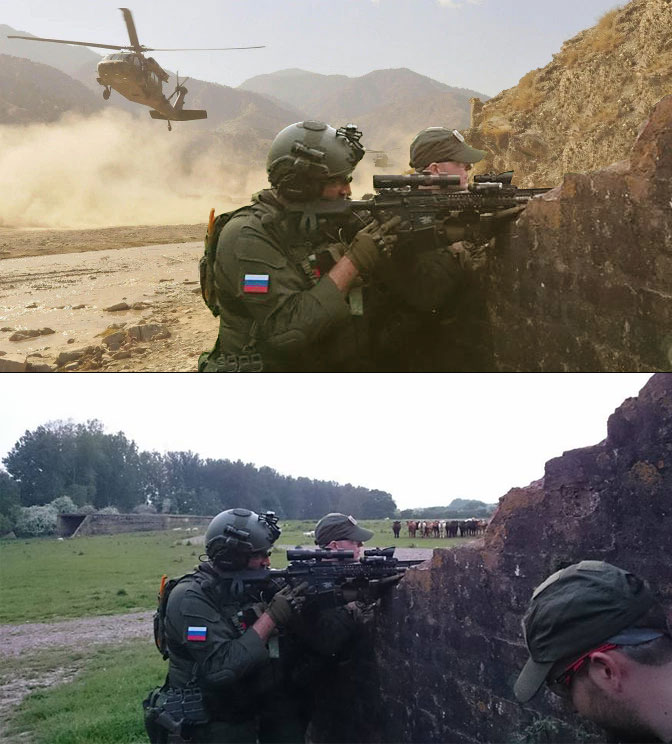 Airsoft - The expectation and reality, The LZ! by JamesStuddart