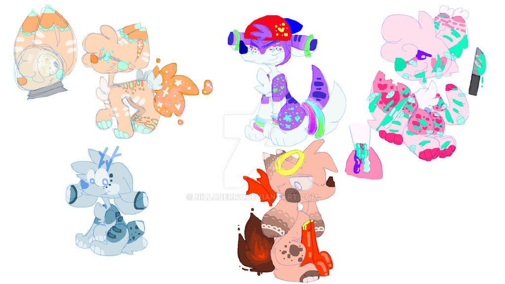 WOW OTA ADOPTS - OPEN by gamergurl23