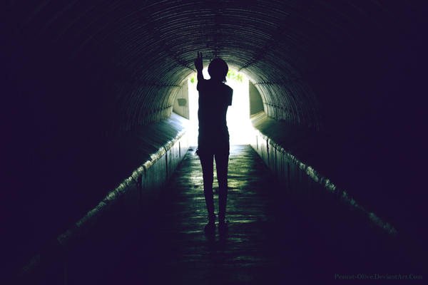 Tunnel Peace by Peanut-Olive