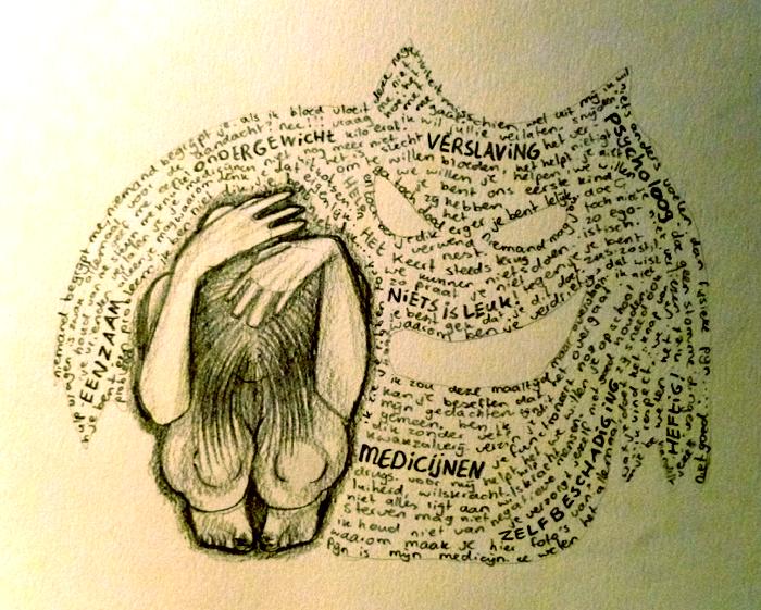 This is depression speaking. by N-B-R-artwork