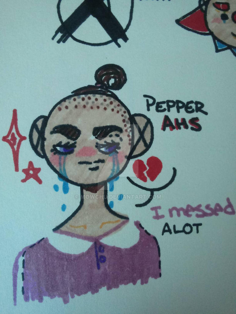 Pepper from Ahs by Mowchu on DeviantArt