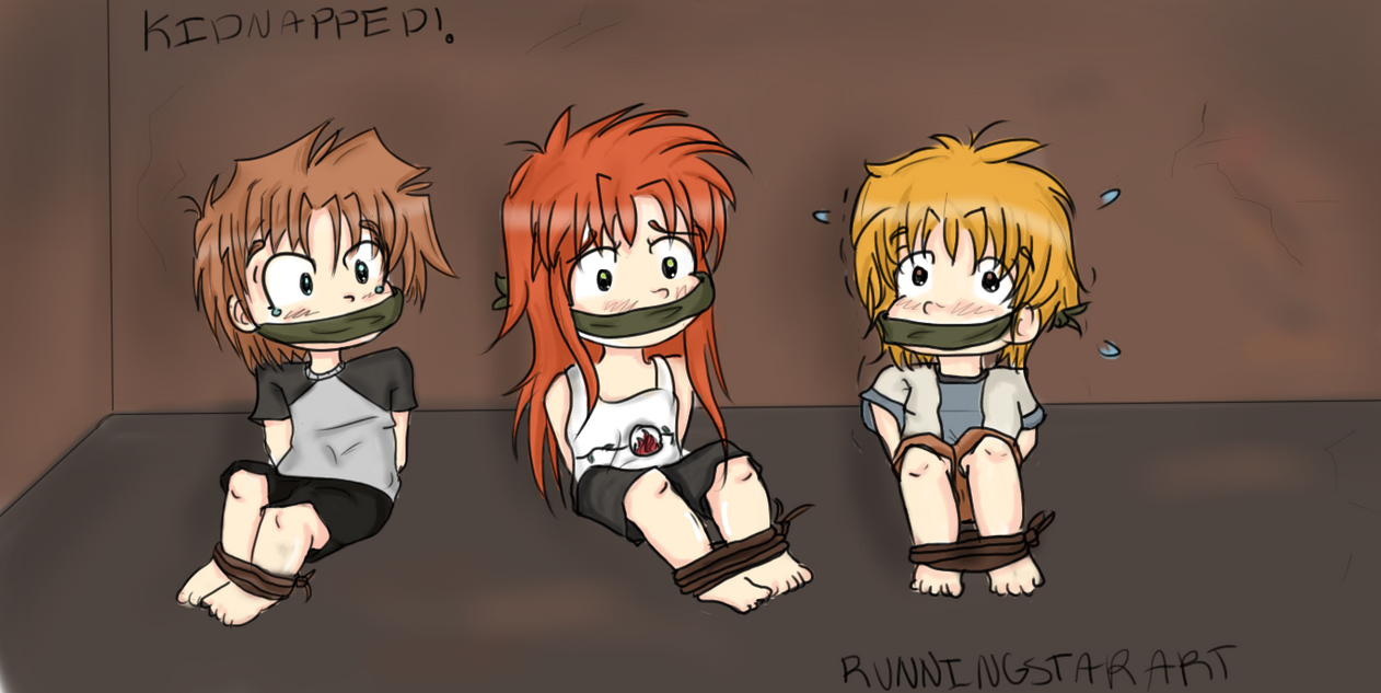 Anime Characters Kidnapped : Request kidnapped by runningstarart on deviantart