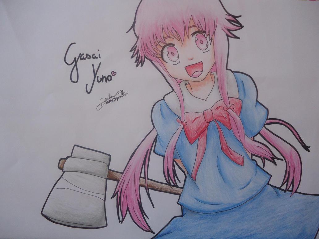 Gasai Yuno By Diulia On DeviantART