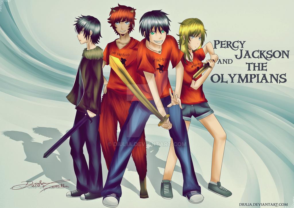 Percy Jackson Anime Drawings | Ruang Belajar siswa kelas 10