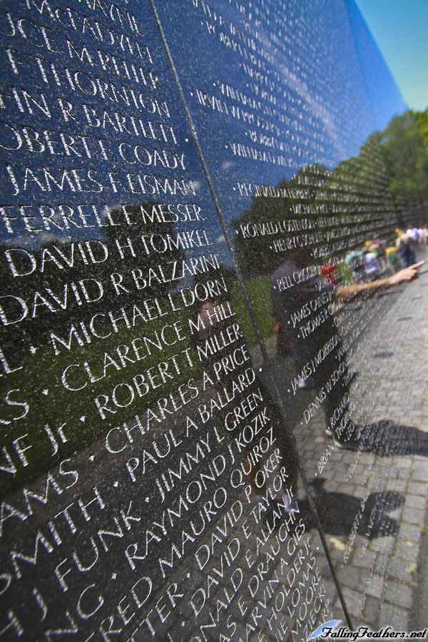 Vietnam Memorial by FallingFeathers