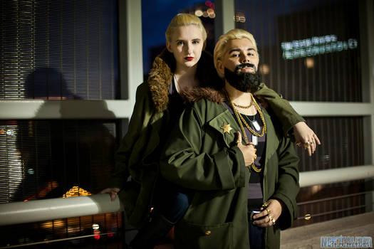 Sasha and Aleksis
