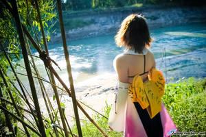 Summoner Yuna by FallingFeathers