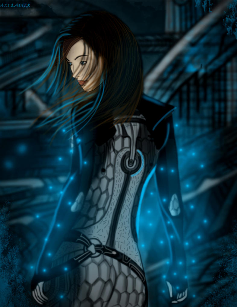 Mass Effect 3- Miranda Lawson Lithograph by Azlaar
