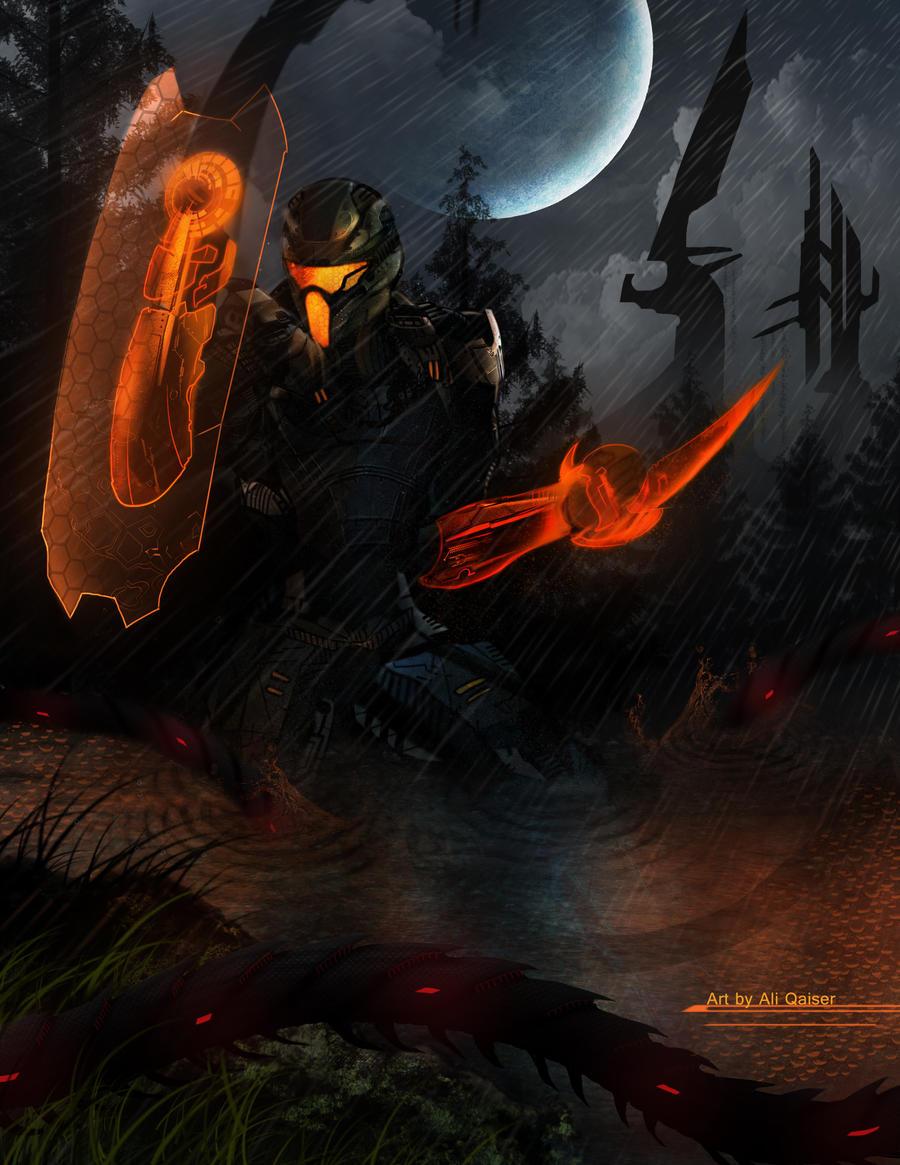Mass Effect- Faust lithograph by Azlaar