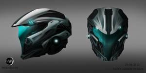 Helmet design, concept art-Webnesium.