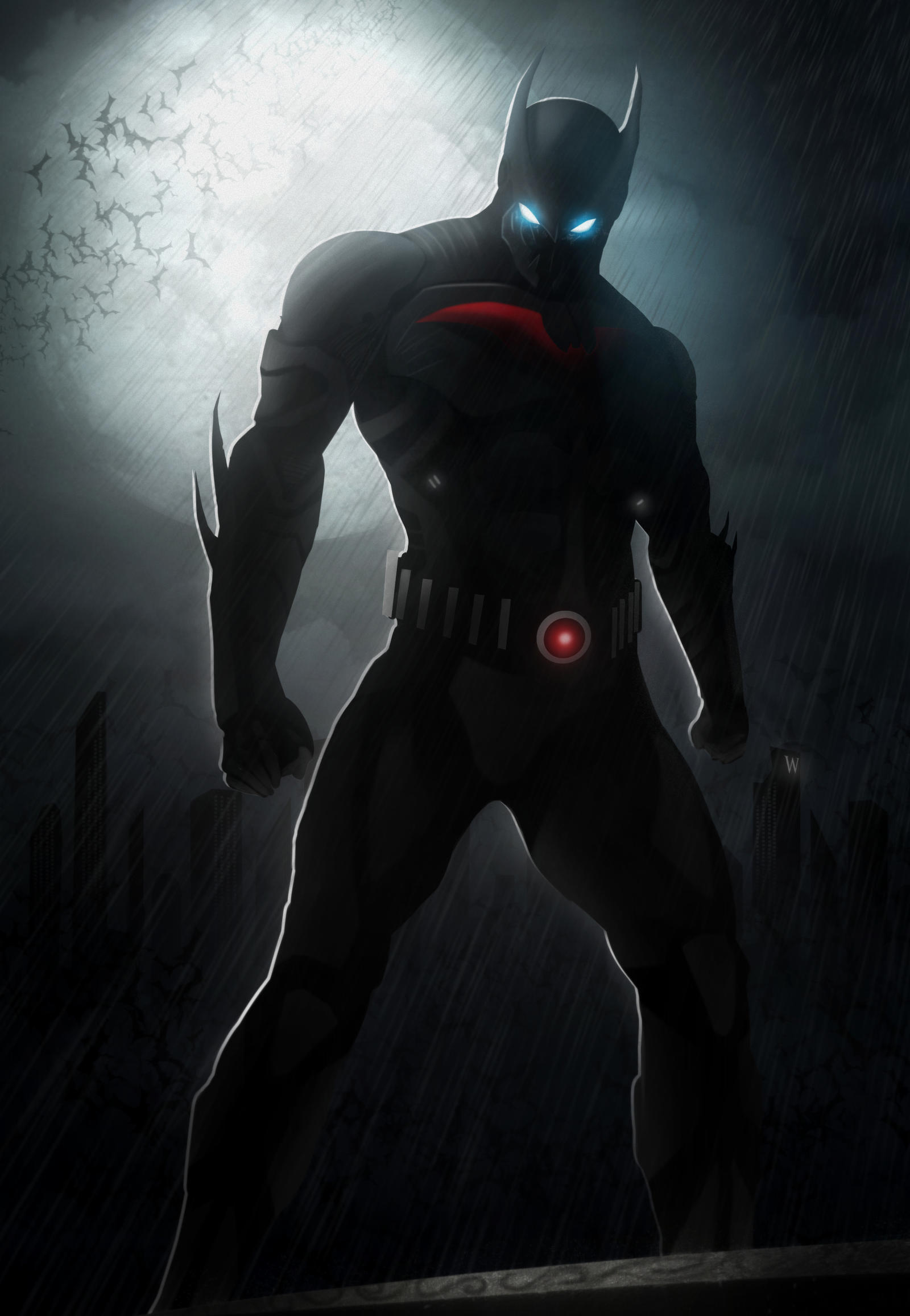 BATMAN BEYOND by Azlaa...