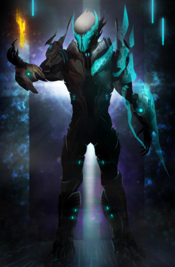 Didact armor design. by Azlaar