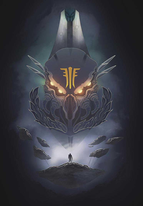 Destiny II : Forsaken / Abstract Art by Azlaar