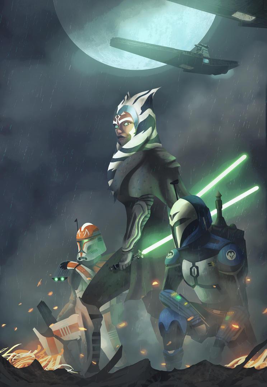 Siege of Mandalore : Star Wars by Azlaar