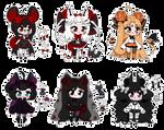 SALE // Halloween Adopts OPEN 1/6 - Set Price