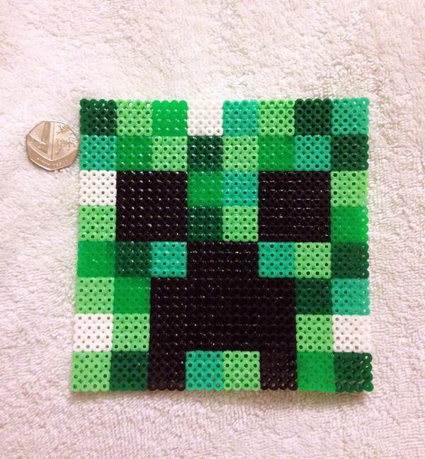 Minecraft - Giant Creeper Head by PixelPlastik on DeviantArt