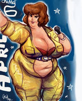 April O'Neil Double Scoops by TheAmericanDream
