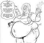 Baby Mama Bulma 01 (inks)