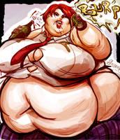 Queen of Fatties Vanessa by TheAmericanDream