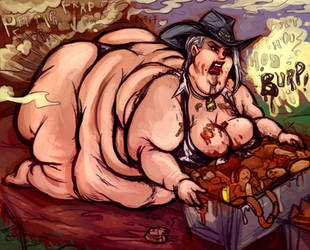 OverWeight Sow Hero Ashe by TheAmericanDream