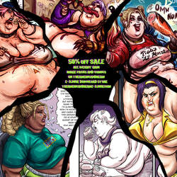 EJunkie Image Pack SALE 50% OFF BBW Comics by TheAmericanDream
