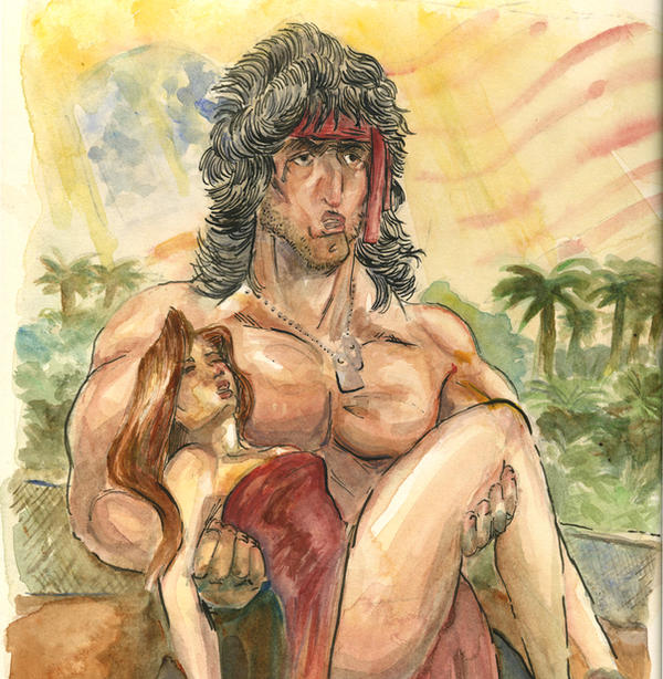 John Rambo The American Dream by TheAmericanDream