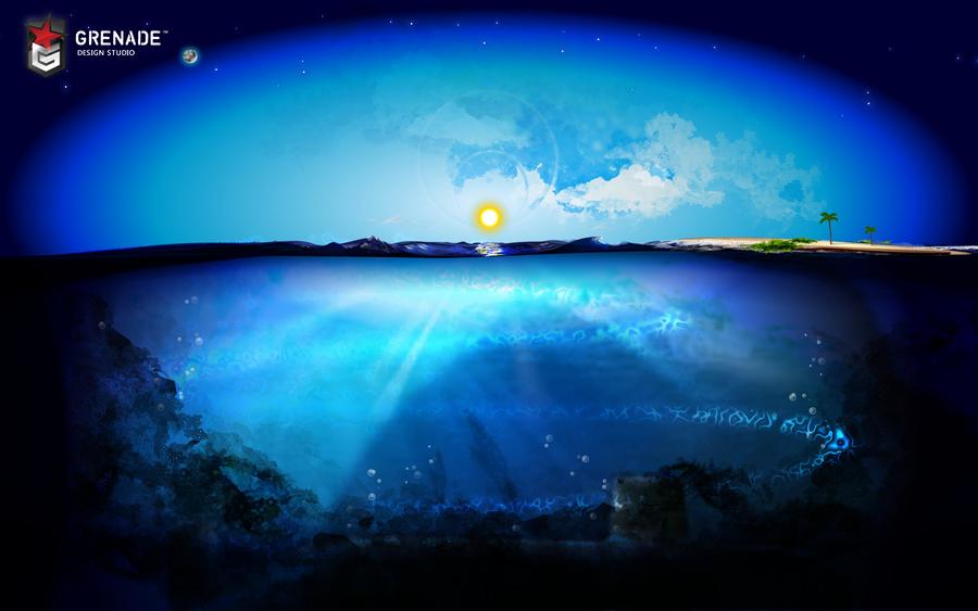 Vexel Waterscape - Open Ocean by anexemines